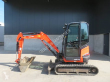 Kubota U 27-4 mini-excavator second-hand