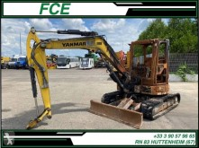 Excavadora Yanmar VIO57 *ACCIDENTE*DAMAGED*UNFALL* miniexcavadora accidentada