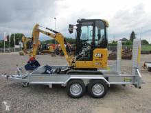 Excavadora Caterpillar 301.6 AUX 1 + Baumaschinenanhänger Unsinn UBA 3536 miniexcavadora usada