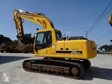 Escavadora Hyundai R210 LC 7 ROBEX 210LC-7 escavadora de lagartas usada