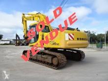 Excavadora Komatsu PC240-6K PC240NLC-6 excavadora de cadenas usada