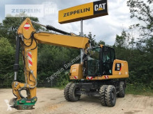 Caterpillar wheel excavator