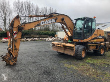 Excavadora Case WX145 excavadora de ruedas usada