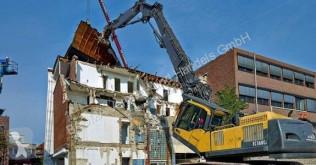 Excavadora excavadora de cadenas Volvo EC 360 C L HR (12001189) MIETE RENTAL