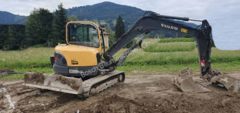 Excavadora Volvo EC88 plus excavadora de cadenas usada