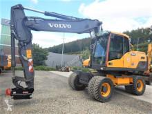Excavadora Volvo EW 180 D mit OQ 70/55 excavadora de ruedas usada