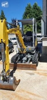 Neuson track excavator