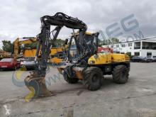Mecalac 12 MTX excavator pe roti second-hand