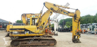 جرافة Caterpillar 318 BL mit SW CW30 mechanisch Verstellausleger جرافة مجنزرة مستعمل