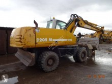 Atlas 2205 M excavator pe roti second-hand