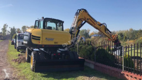 Yanmar B110W used wheel excavator