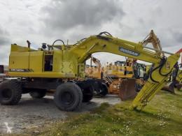Doosan Solar 140W-V Rail Road excavator pe roti second-hand