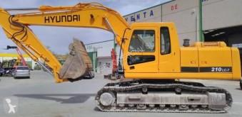 Hyundai R210 LC 7 R 210 NLC-7 excavadora de cadenas usada
