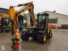 JCB Hydradig 110W excavator pe roti second-hand