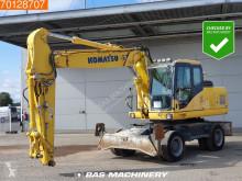 Excavadora Komatsu PW180-7 excavadora de ruedas usada