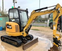 Caterpillar 302.7D 302.7D CR tweedehands mini-graafmachine