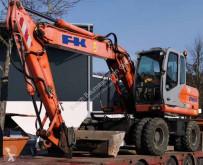 Excavadora Fiat Kobelco E145W excavadora de ruedas usada