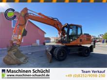 Excavadora Doosan DX 160 W Mobilbagger excavadora de ruedas usada