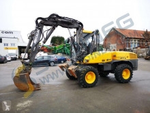 Mecalac 12 MTX used wheel excavator