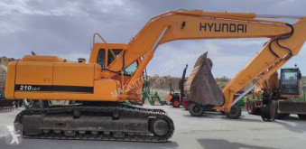Excavadora Hyundai R210NLC-7 excavadora de cadenas usada