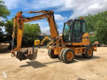 Case WX95 excavator pe roti second-hand