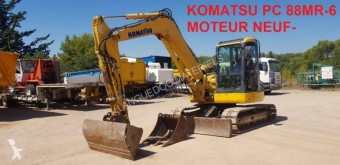 Komatsu PC88MR-6 excavator pe şenile second-hand