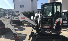 Bobcat used mini excavator