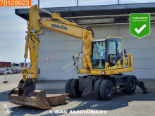Excavadora Komatsu PW 148 -8 Included 2 buckets - All functions excavadora de ruedas usada
