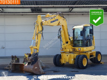 Excavadora Komatsu PW118 MR -8 Including 5 buckets - All functions excavadora de ruedas usada