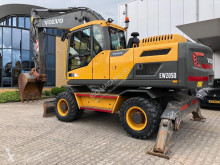 Volvo EW205D Mobile Excavator BLADE + OUTRIGGERS