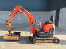 Excavadora Kubota U 10-3 miniexcavadora usada