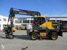 Volvo EW180 used wheel excavator