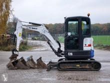 Bobcat E26 EM used mini excavator
