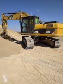 Excavadora Caterpillar 329D 329DL excavadora de cadenas usada