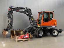 Excavadora excavadora de ruedas Schaeff TW 95 | Hammer | 3 Buckets | Forks