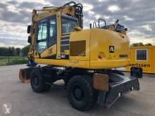 Excavadora Komatsu PW160 excavadora de ruedas usada