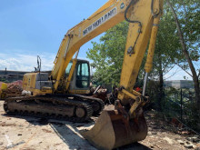 New Holland E245B used track excavator