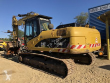Caterpillar 324D used track excavator