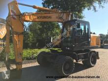 Hyundai Robex 170 W-7A excavator pe roti second-hand