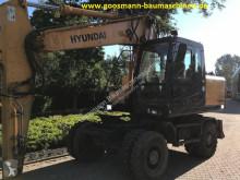 Hyundai Robex 170 W-7A used wheel excavator