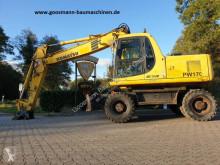 Komatsu PW 170 ES-6K excavator pe roti second-hand
