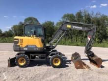 Escavadora Volvo EW60E escavadora de rodas usada