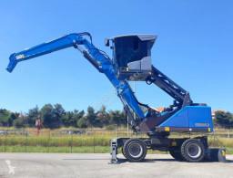 Excavadora Fuchs MHL 320 s5 excavadora de ruedas usada