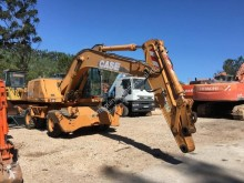Case WX185 excavator pe roti second-hand