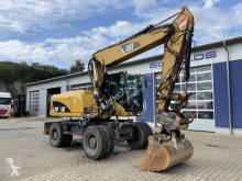 Escavadora escavadora de rodas Caterpillar M316D Mobilbagger *12.600 h *Hammerleitung