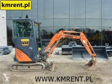 Hitachi ZX 17 22 JCB 8018 8026 8025 CAT 301 302.5 YANMAR SV 15 CASE CX 26 mini-escavadora usada