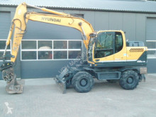 Hyundai 140W-9A used wheel excavator