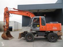Excavadora Hitachi ZX 180 W excavadora de ruedas usada