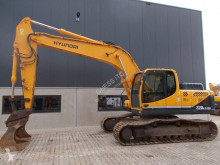 Hyundai Robex 220LC-9A used track excavator