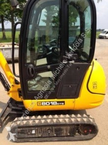 JCB 8018 Minibagger mini-excavator second-hand